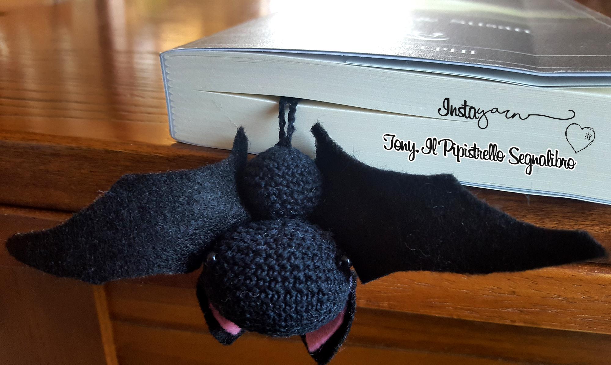 Tony il Pipistrello Amigurumi Segnalibro